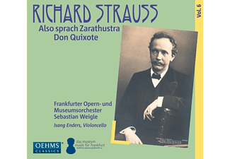 Weigle/Frankfurter Museumsorch - Also sprach Zarathustra/Don Quixote - (CD)