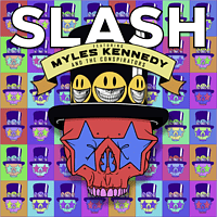Slash Feat. Myles Kennedy & The Conspirators - Living The Dream (feat. Myles Kennedy & The Conspirators) - Limited Red Vinyl [Vinyl]