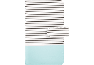 FUJIFILM Instax mini 9 striped Fotoalbum, Ice blue
