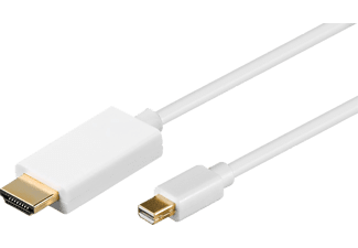 GOOBAY Mini DisplayPort/HDMI, Adapterkabel