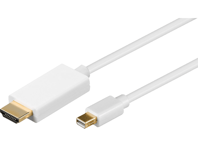 GOOBAY  Mini DisplayPort/HDMI, Adapterkabel | 04040849648601