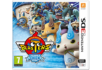 Yo-kai Watch Blasters: L'Escadron du Chien Blanc FR 3DS