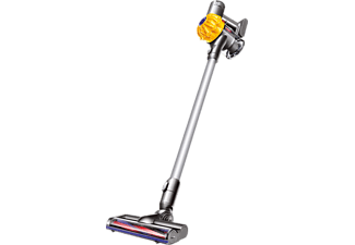 DYSON Dyson V6 Cord-Free Extra, Stielsauger, Handstaubsauger, Gelb/Grau