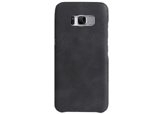 UNIQ Cover Ash Black Outfitter Galaxy S8 Plus Zwart (107121)