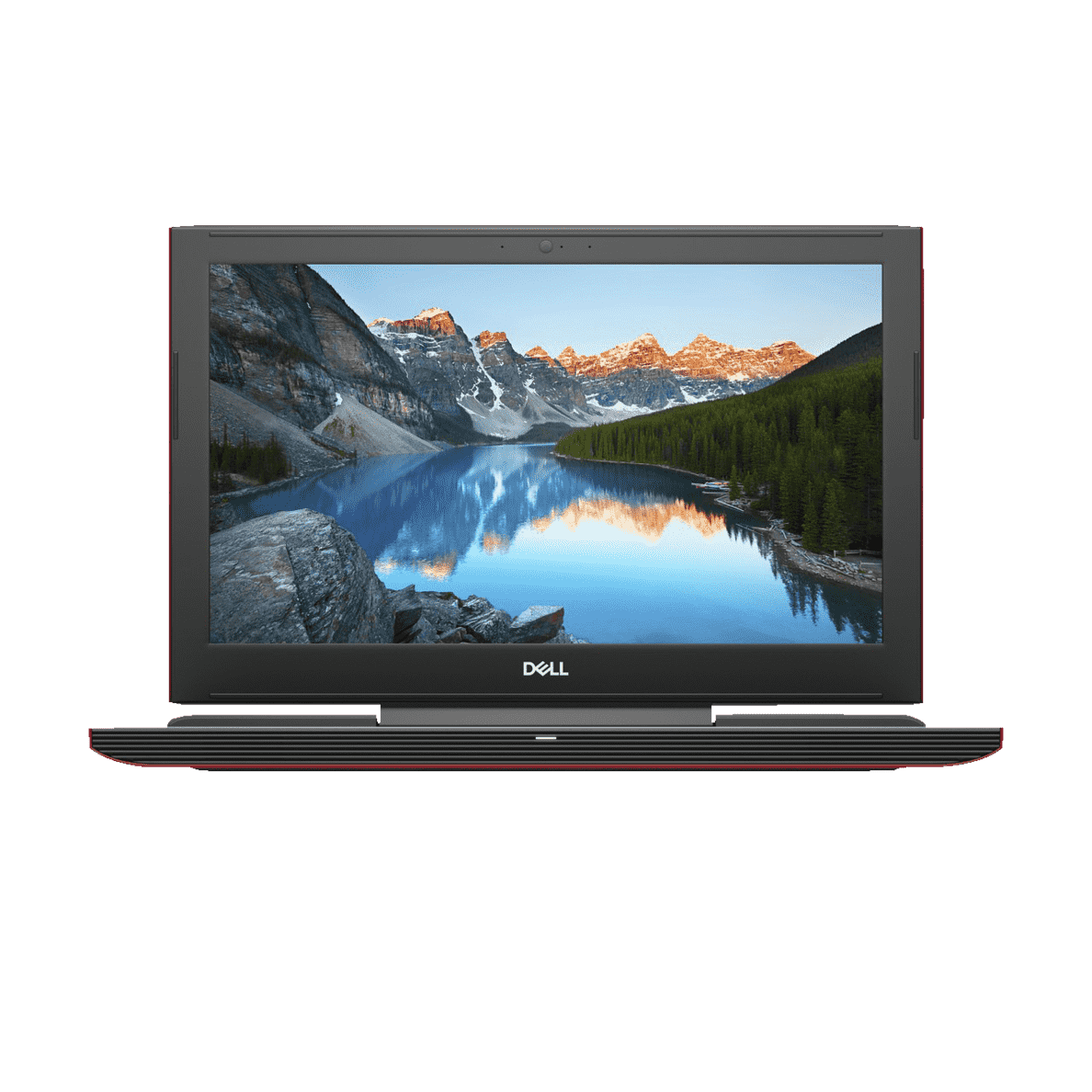 DELL INSPIRON 15 7577, Notebook, Core™ i7 Prozessor, 16 GB RAM, 256 GB SSD, 1 TB HDD, GeForce GTX 1060, Schwarz/Rot | 05397184051344