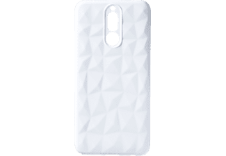 VDC 003 Backcover Huawei HU MATE 10 LITE Thermoplastisches Polyurethan Weiß
