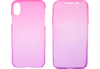 V-DESIGN V-LV 066 Handyhülle, Pink/Violett, passend für Apple iPhone X