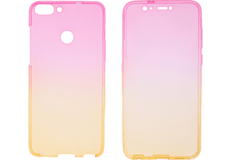 V-DESIGN V-LV 053 Full Cover Huawei HU P SMART Thermoplastisches Polyurethan Pink/Gelb