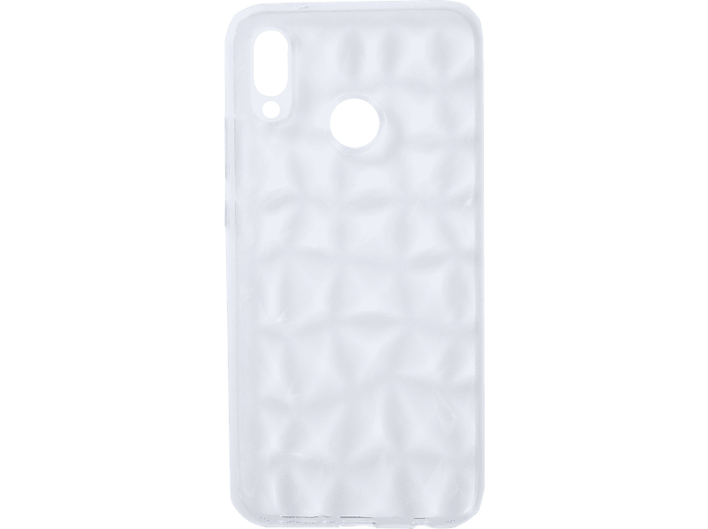 V-DESIGN VDC 011 , Backcover, Huawei, HU P20 LITE, Thermoplastisches Polyurethan, Transparent