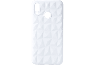VDC 012 Backcover Huawei HU P20 LITE Thermoplastisches Polyurethan Weiß