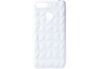 VDC 021 Backcover Huawei HU Y6 2018 Thermoplastisches Polyurethan Weiß