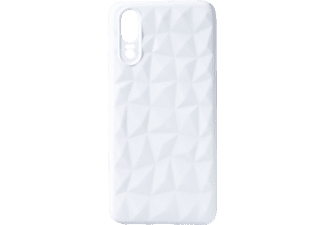 VDC 009 Backcover Huawei HU P20 Thermoplastisches Polyurethan Weiß
