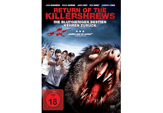 Return Of The Killershrews-Die Blutgierigen Bestie - (DVD)
