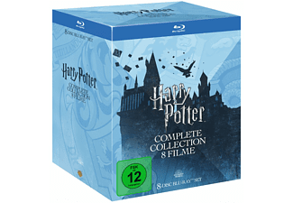 HARRY POTTER-THE COMPLETE COLLECTION - (Blu-ray)