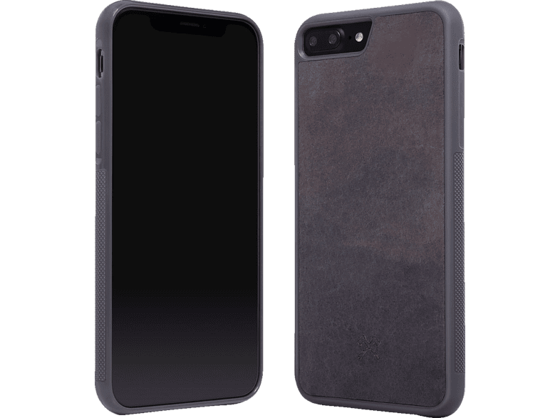 WOODCESSORIES  STO005 ECOCASE STONE Backcover Apple iPhone 7 Plus, iPhone 8 Plus echter Stein Schwarz | 04260382633364