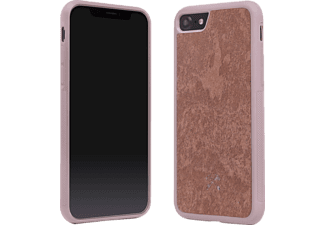 WOODCESSORIES Ecocase Stone Handyhülle, Rot, passend für Apple iPhone 7, iPhone 8