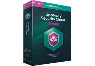 Kaspersky Security Cloud Family Edition 20 Geräte 1 Jahr (Code in a Box)