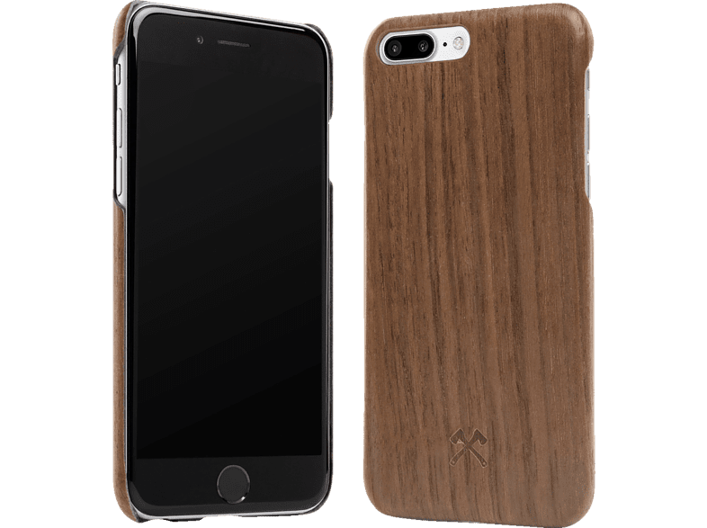 WOODCESSORIES  ECOCASE SLIMCASE Backcover Apple iPhone X Walnuss Echtholz/Silikon Walnuss/Schwarz | 04260382632817