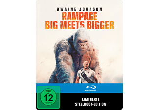 Rampage: Big Meets Bigger (SteelBook®) - (Blu-ray)