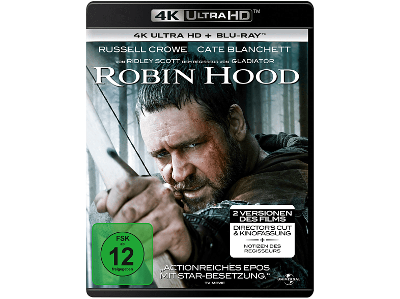 Robin Hood-Director's Cut [4K Ultra HD Blu-ray]