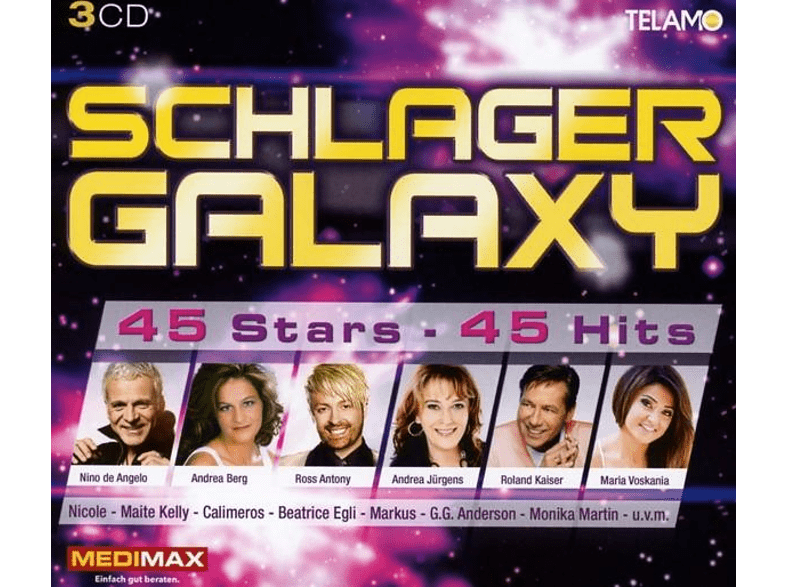 VARIOUS - Schlager Galaxy [CD]
