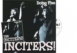 The Inciters - Doing Fine - (LP + Bonus-CD)