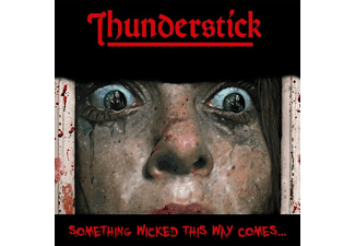 Thunderstick - Something Wicked This Way Comes (Red Vinyl) - (Vinyl)