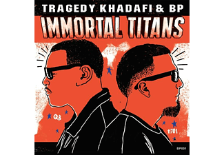 Tragedy Khadafi/BP - Immortal Titans - (CD)