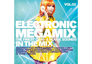 VARIOUS - Electronic Megamix Vol.2 The Finest Club-& House - (CD)