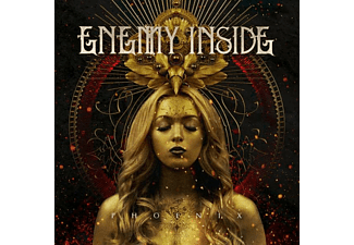 Enemy Inside - Phoenix (Gold/Black/Red Splatter 2LP) - (Vinyl)