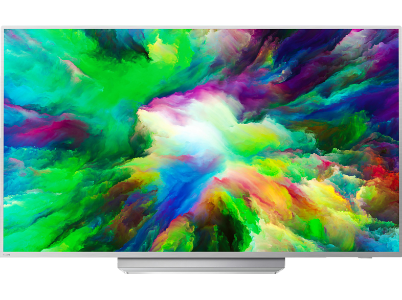 PHILIPS 55PUS7803 LED TV (Flat, 55 Zoll/139 cm, UHD 4K, SMART TV, Ambilight, Android TV)