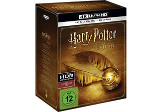 Harry Potter 4K Complete Collection (16-Discs) - (4K Ultra HD Blu-ray + Blu-ray)