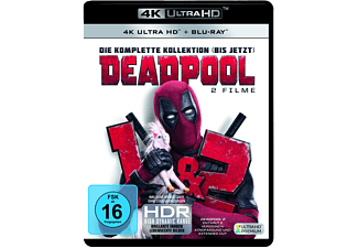 Deadpool 1+2 - (4K Ultra HD Blu-ray + Blu-ray)