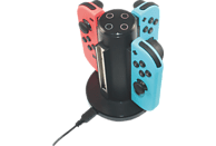 READY 2 GAMING Nintendo Switch 4in1 Charger Nintendo Switch Ladestation, Schwarz