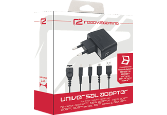 READY 2 GAMING 3DS Universal Adapter Nintendo Switch, Nintendo Switch Adapter, Schwarz