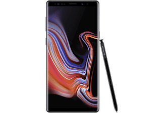 SAMSUNG Smartphone Galaxy Note9 128 GB Midnight Black (SM-N960FZKDLUX)