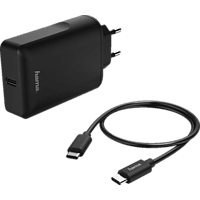 HAMA USB Typ-C Power Delivery (PD) USB-C-Netzteil