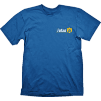 GAYA ENTERTAINMENT Fallout Vault 76 T-Shirt T-Shirt, Blau