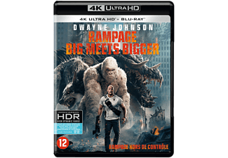 Rampage: Big Meets Bigger - 4K Blu-ray