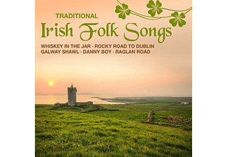 VARIOUS - Traditional Irish Folk Songs - (CD)