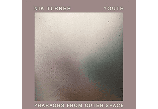 Nik Turner, Youth - Pharaohs From Outer Space (Silver Coloured LP) - (Vinyl)