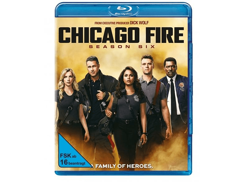 Chicago Fire-Staffel 6 [Blu-ray]