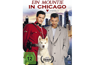 Ein Mountie in Chicago - Staffel 4 - (DVD)
