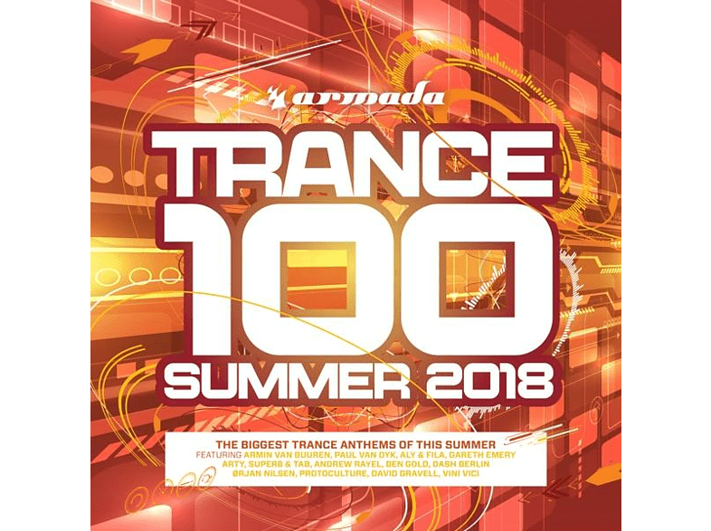 VARIOUS - Trance 100-Summer 2018 [CD]