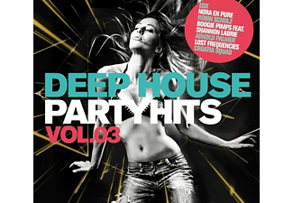 VARIOUS - DEEP HOUSE PARTYHITS 3 - (CD)