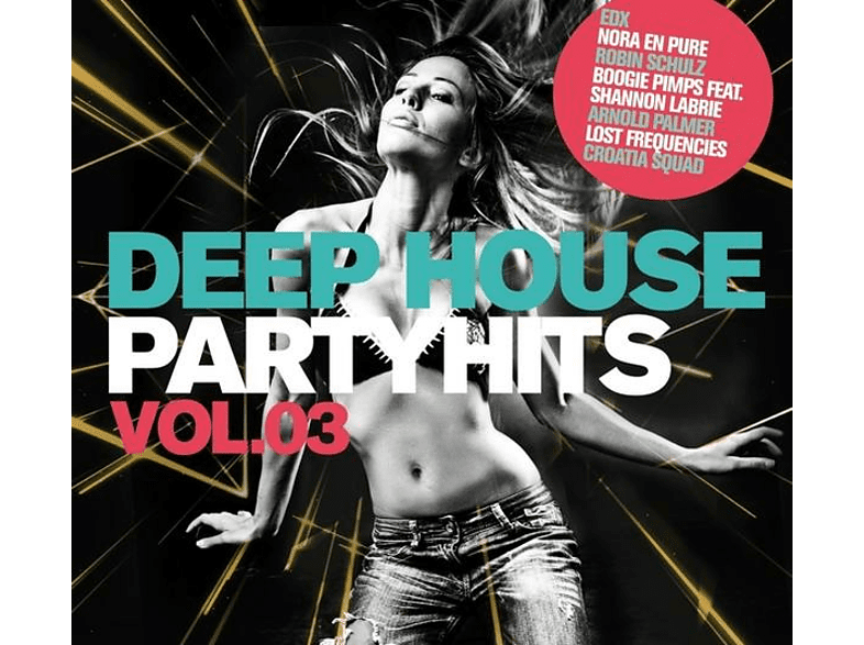 VARIOUS - Deep House Partyhits Vol.3 [CD]