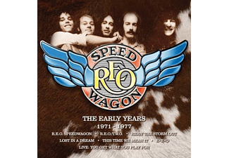 REO Speedwagon - THE EARLY YEARS 1971-1977 (EXPANDED BOX SET) - (CD)