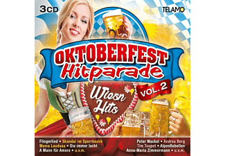VARIOUS - Oktoberfest Hitparade-Wiesn Hits Vol.2 - (CD)