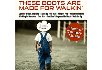 VARIOUS - These Boots Are Made For Walkin' - (CD)