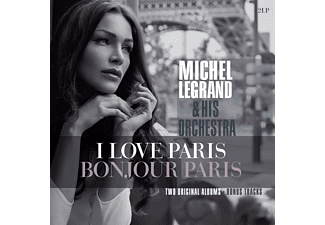 Michel Legrand - I Love Paris/Bonjour Paris - (Vinyl)